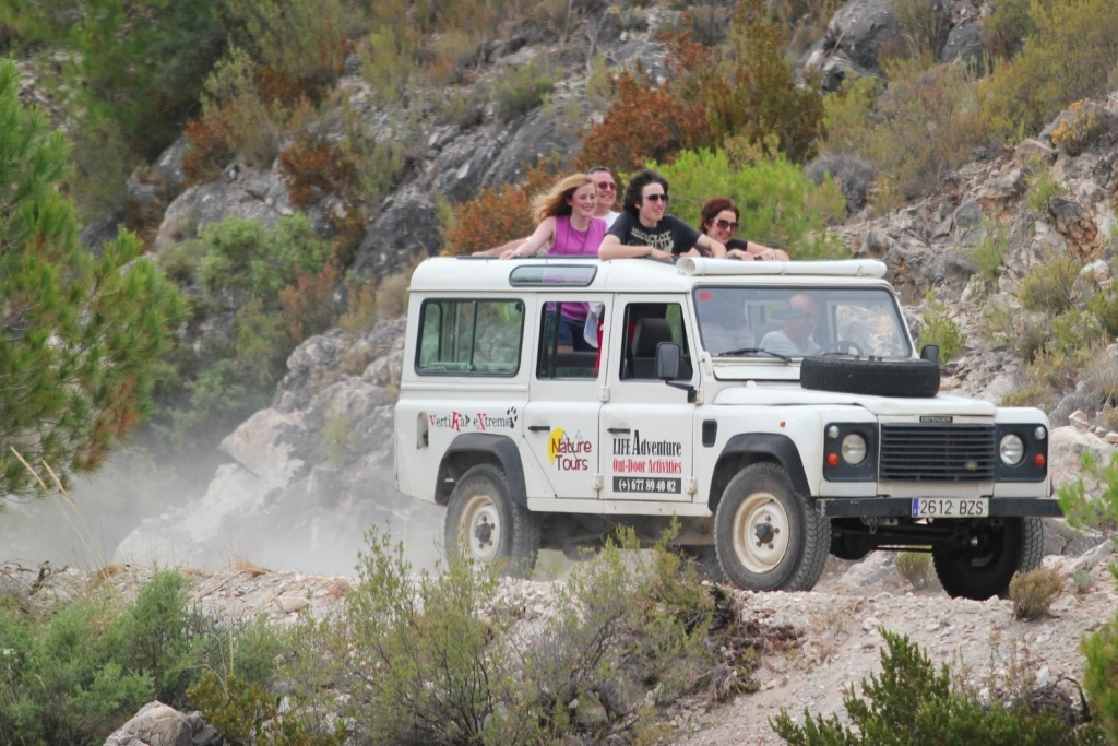 LIFE Adventure Jeep tours nerja